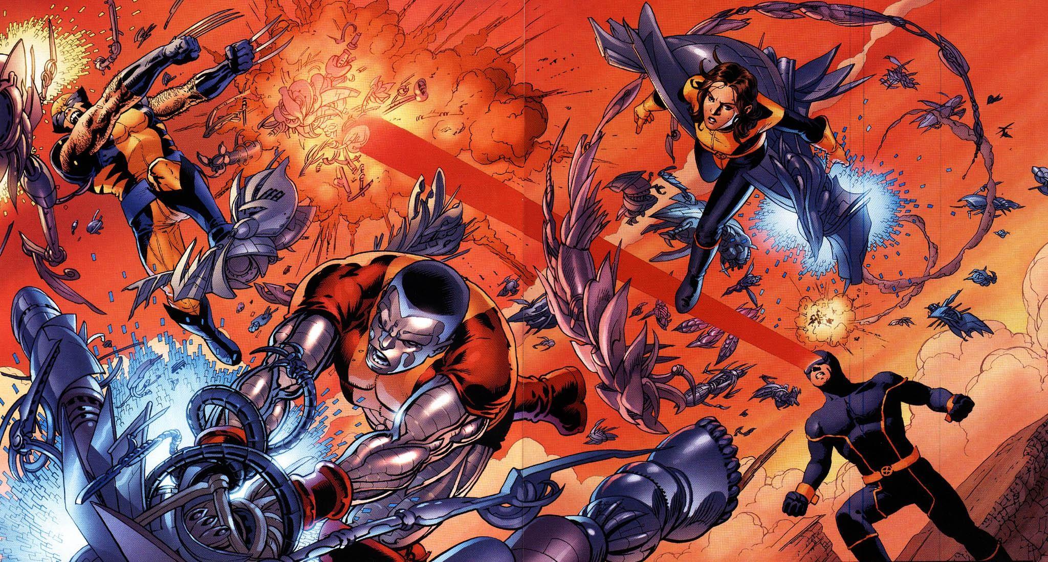 X-men contra el nido