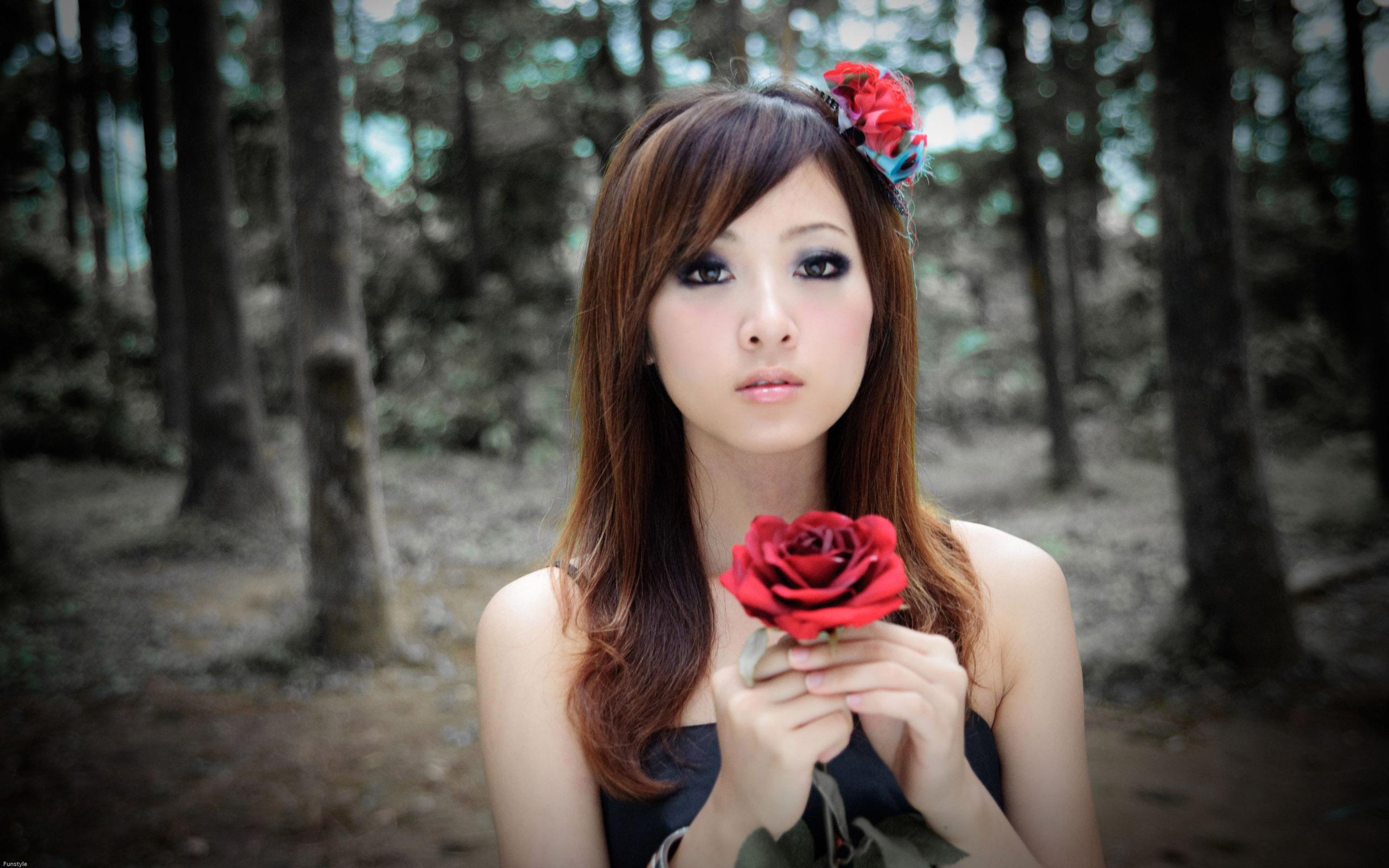 Японские женщины в натуре 13 фотография
