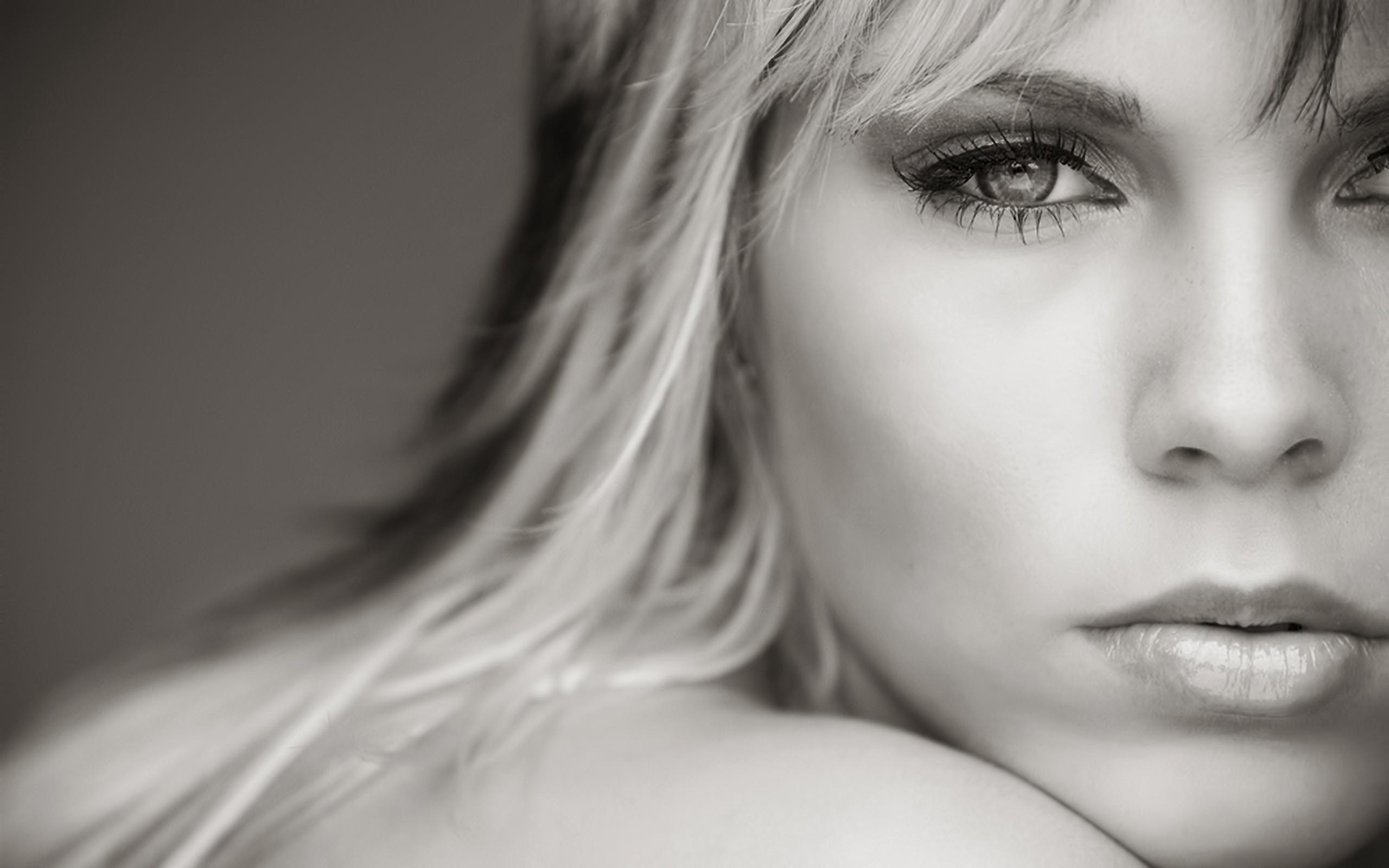 Черно белые фотографии блондинок 21 фотография