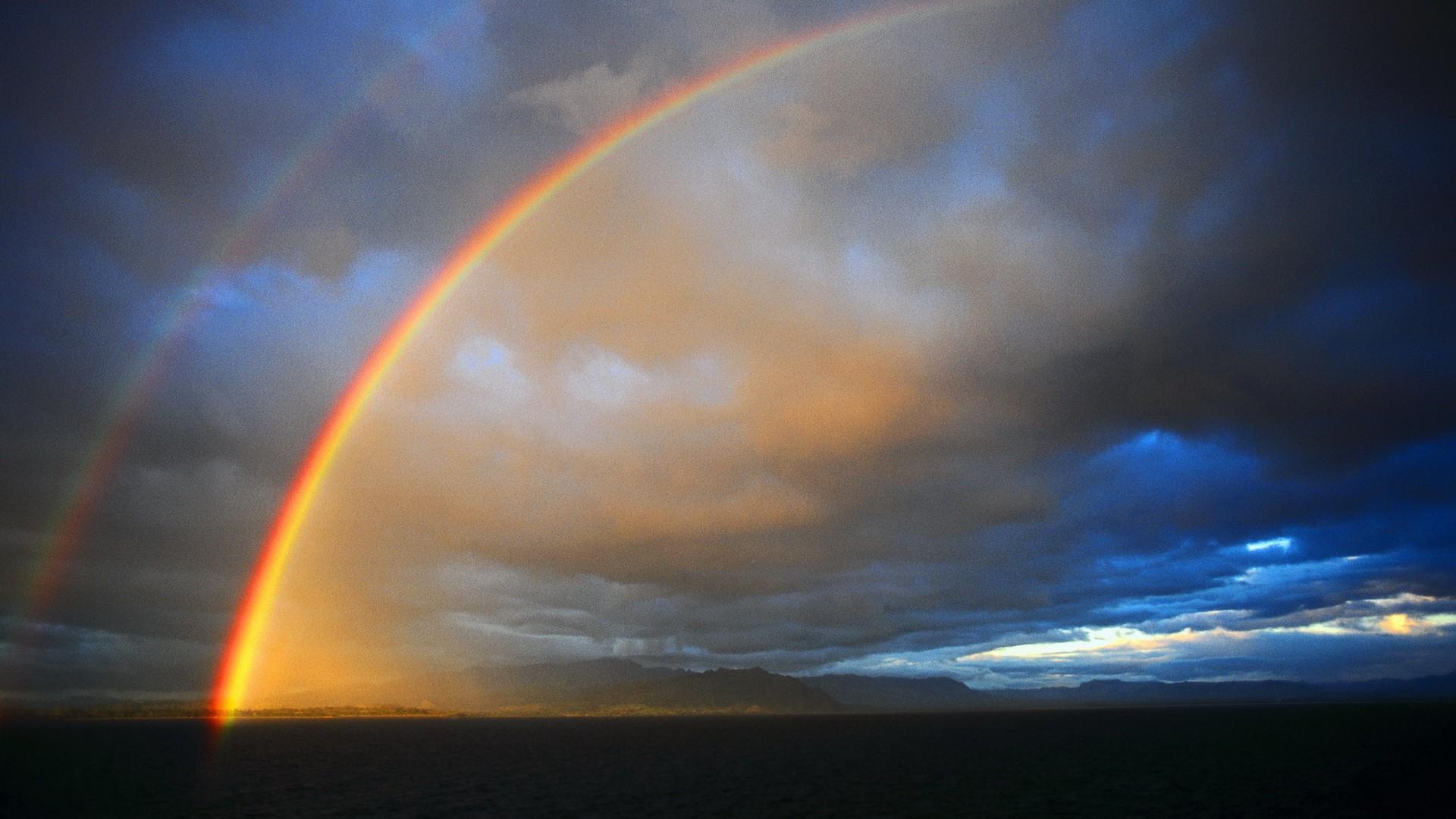 Как сделать блики радуги на