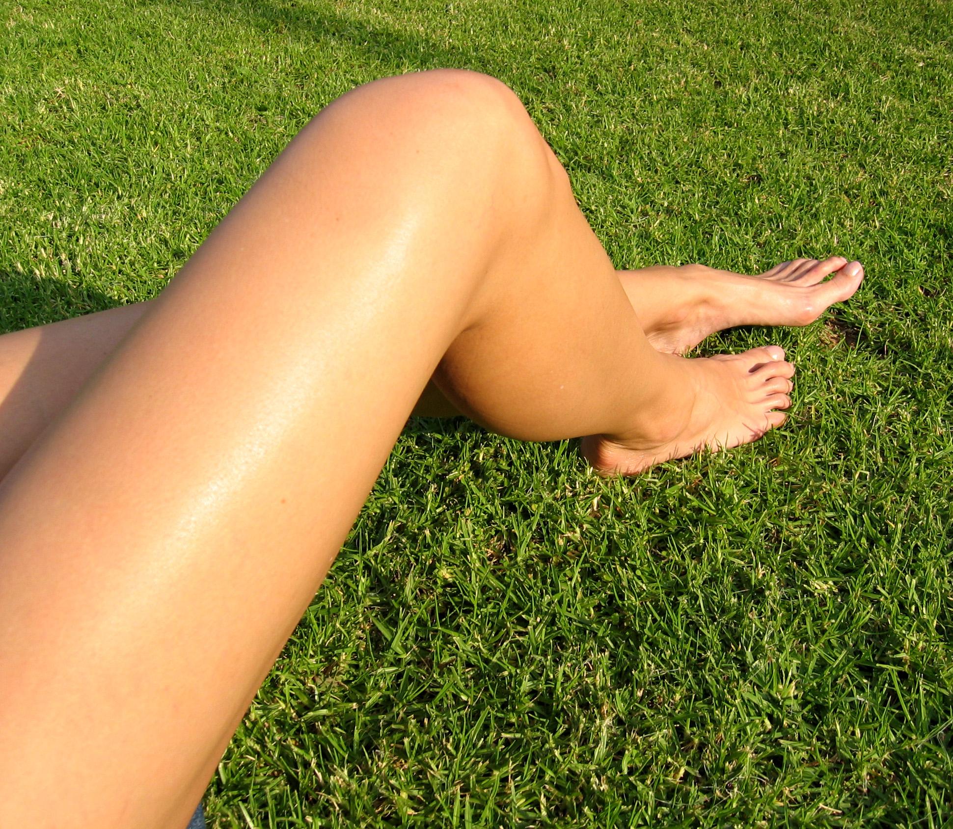 Красивые бритые ножки женщин фото