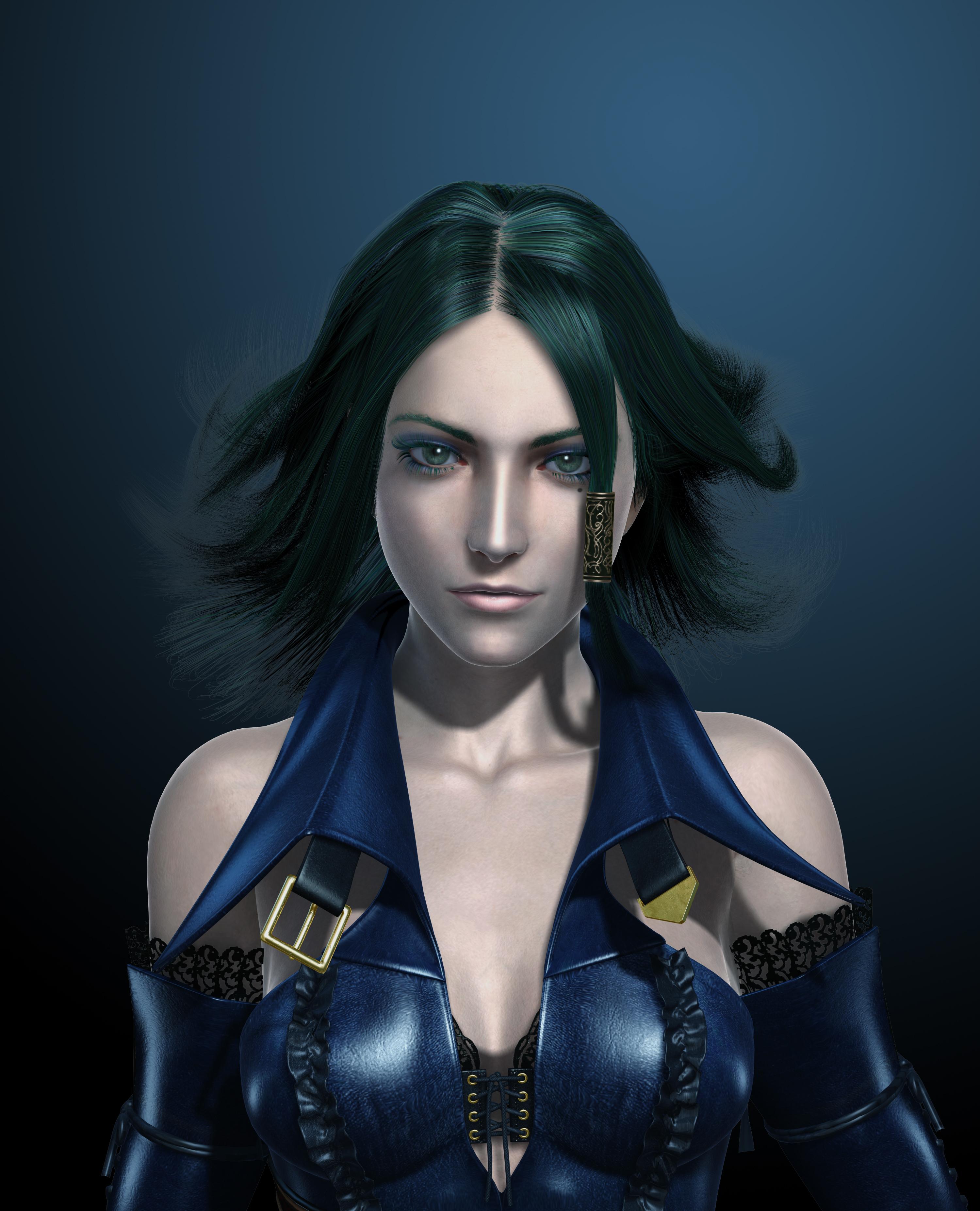 Рисованные девушки из компьютерных игр 4 фотография