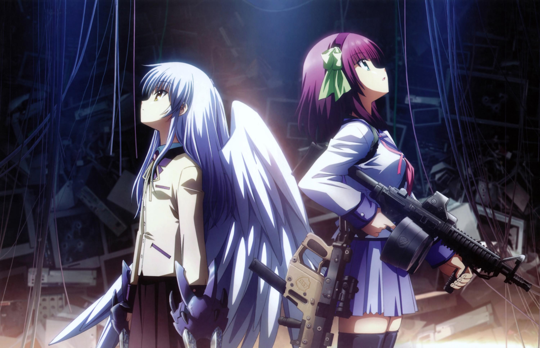Фото девушки ангела с оружием 14 фотография