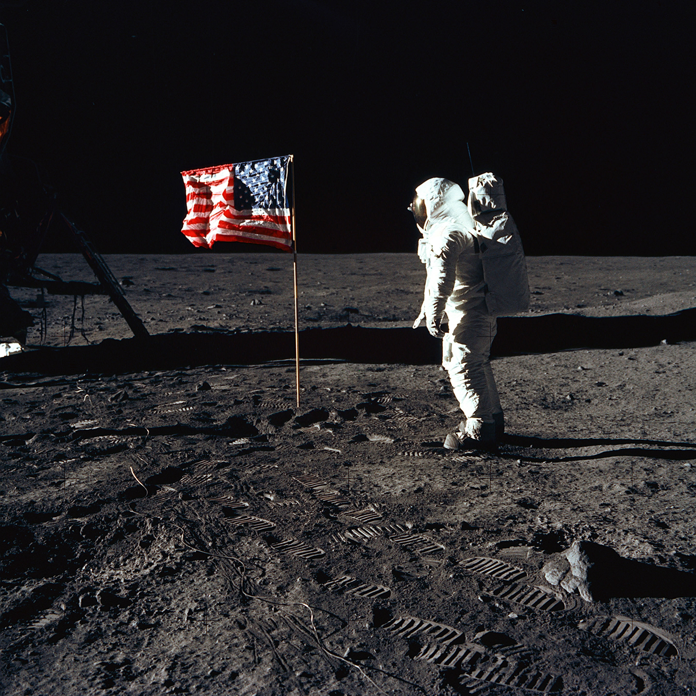 the history of the landing on the moon in the 1960s