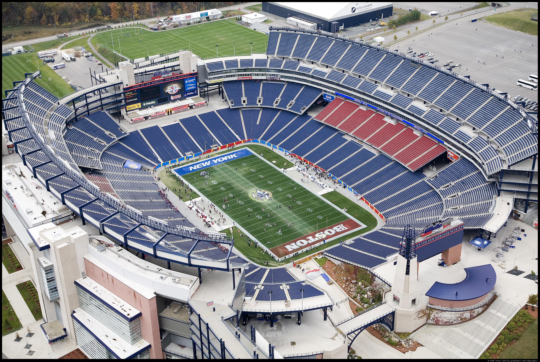American football stadiums