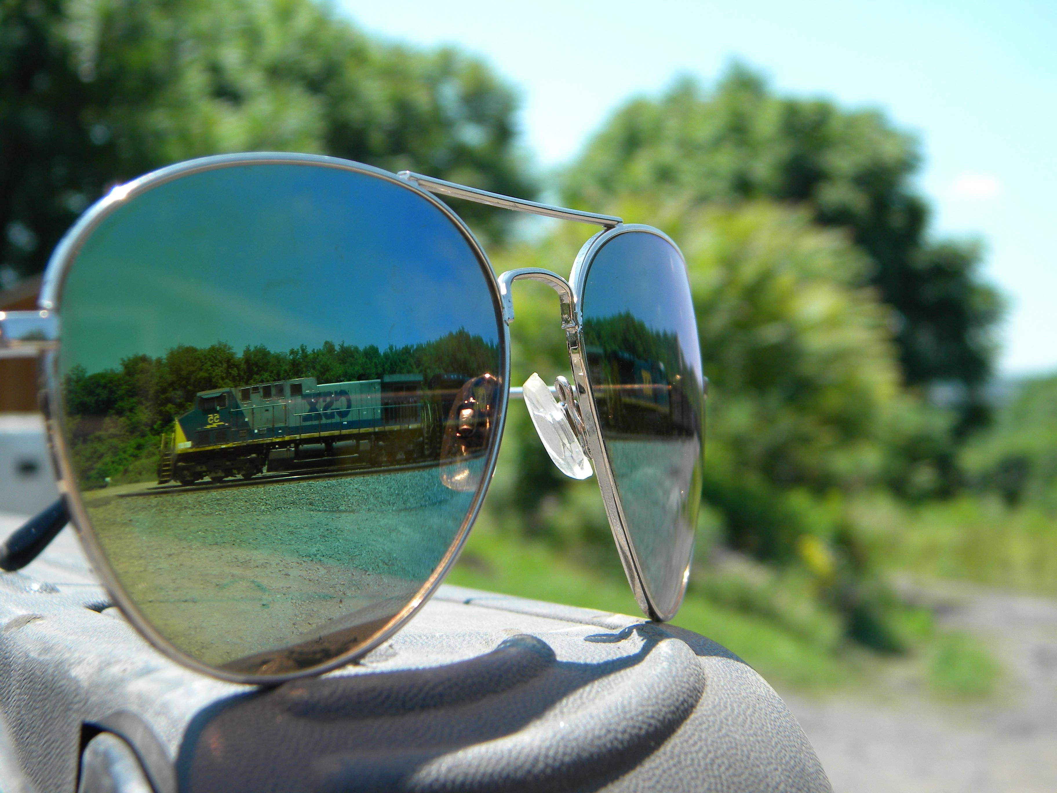 Как сделать отражение в очках свою фотографию