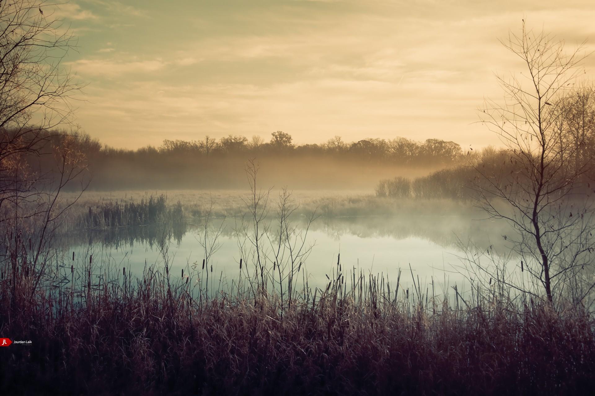 озеро туман обои на рабочий стол № 381760 без смс