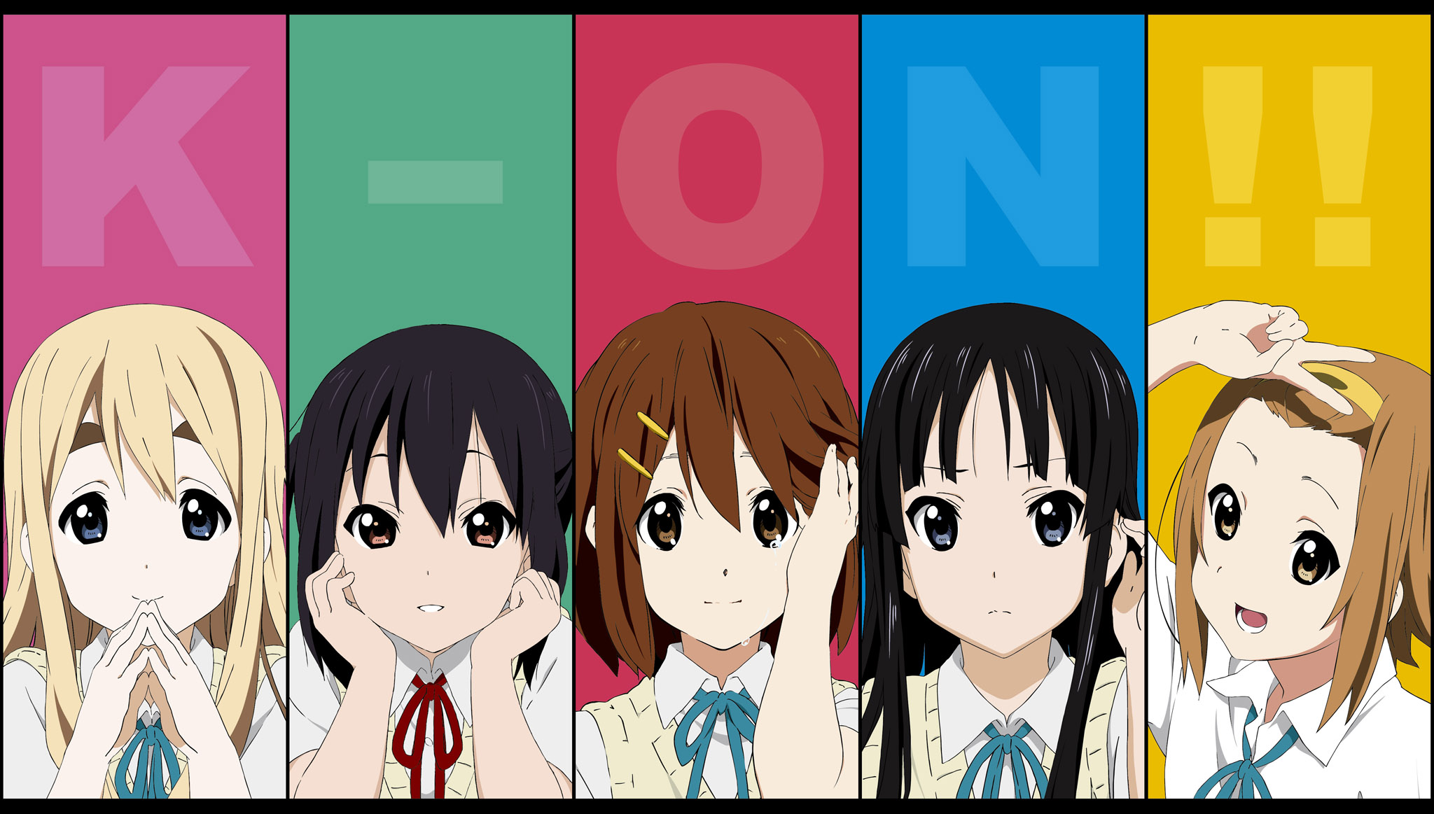 K-ON! (Кэйон!) - бесплатные обои / oboi7.com