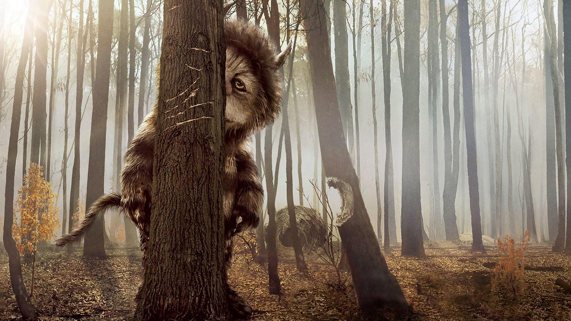 Чудовище в лесу 16 фотография