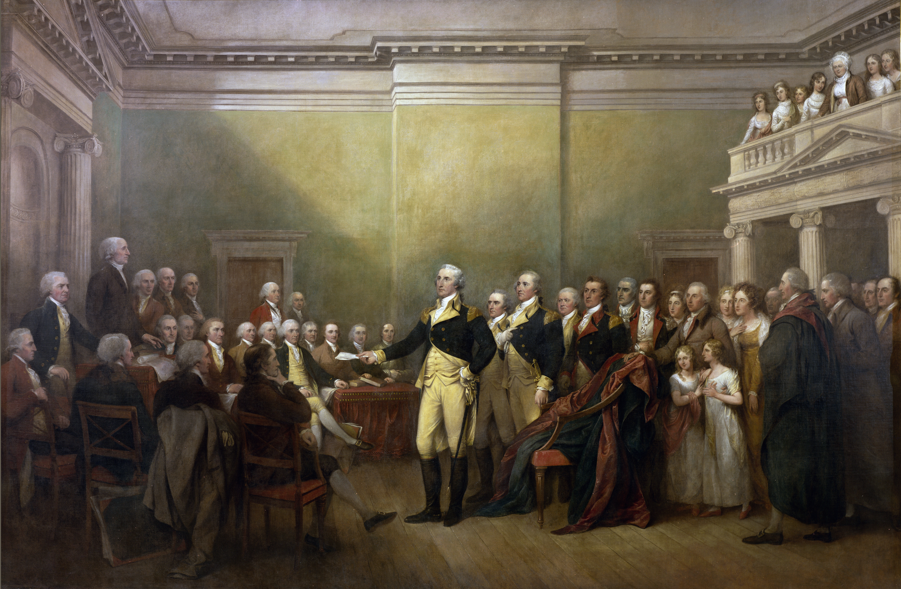 the role of george washington in the american revolution