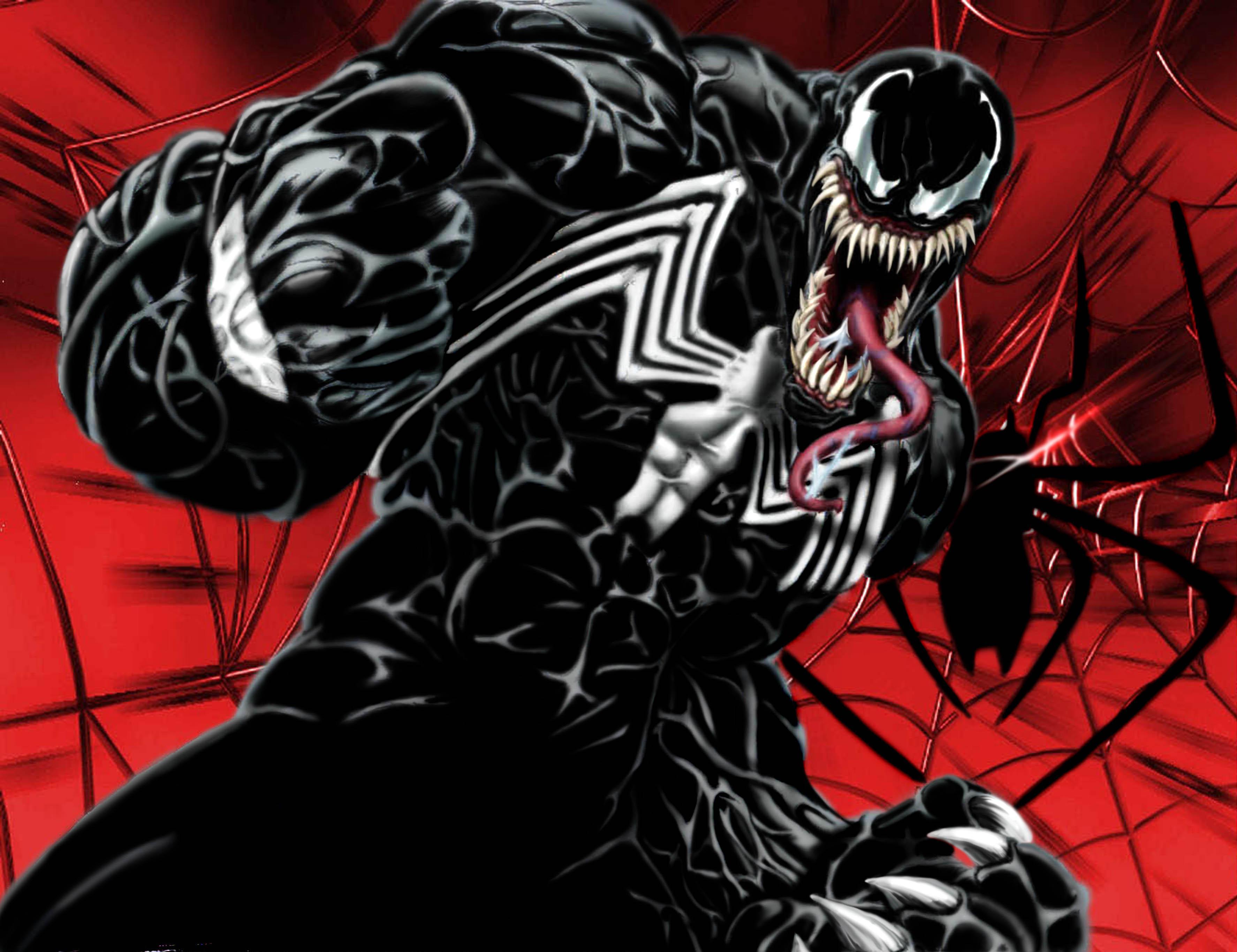 Человек паук и веном комикс 8 фотография
