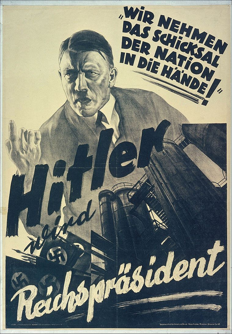 the use of propaganda as a prime weapon by adolf hitler Use of propaganda essay examples the use of propaganda as a prime weapon by adolf hitler 1,781 words 4 pages the use of propaganda in adolf hitler's book mein.