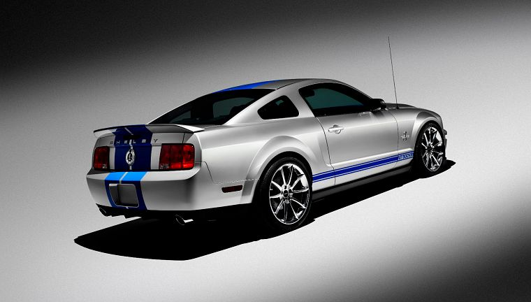 Ford Mustang Shelby GT500 - обои на рабочий стол