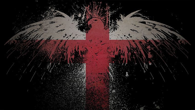 Обои Для Рабочего Стола Флаг Англии