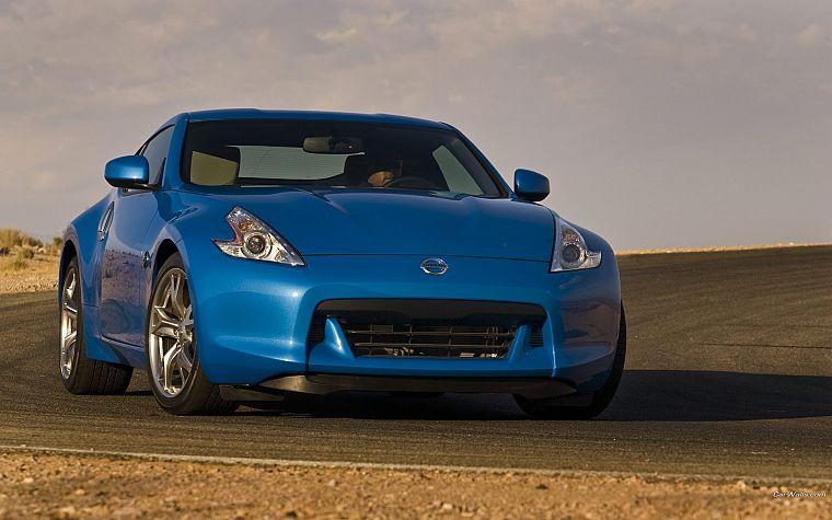 синие автомобили
