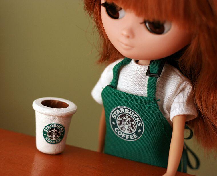 Как сделать для кукол кофе 284