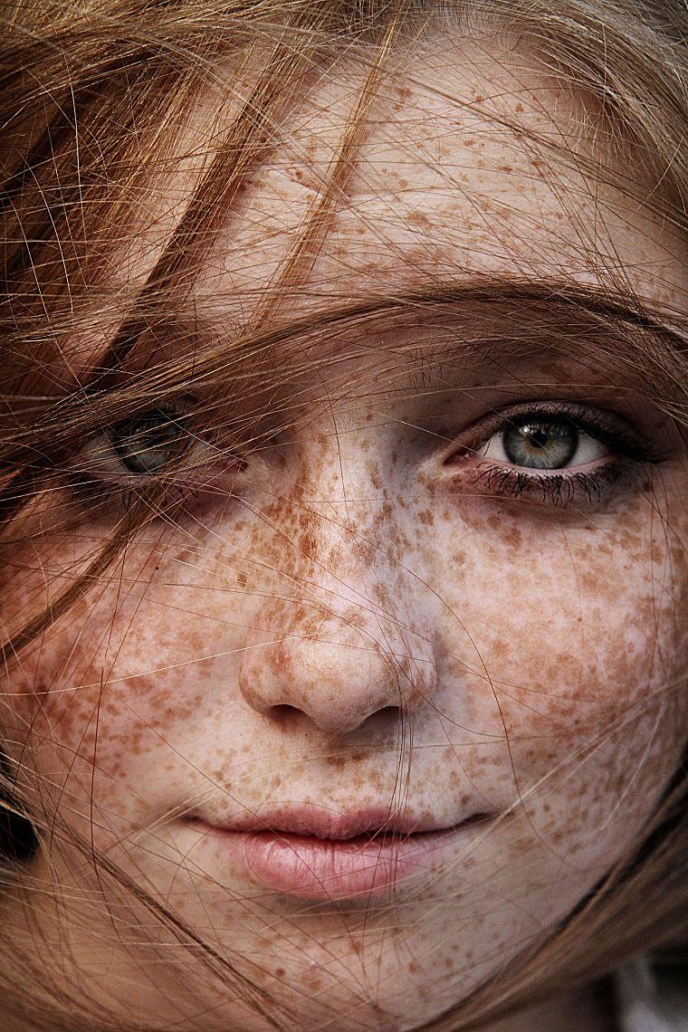 Рыжие девушки конопатые 5 фотография