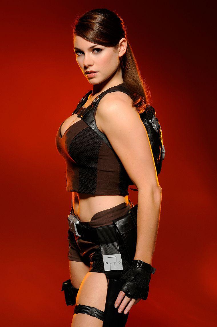 Lara croft underworld bikini breasts sexy video