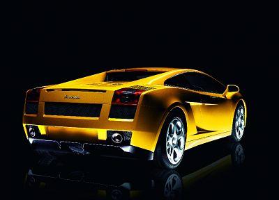 автомобили, транспортные средства, Lamborghini Gallardo, задний угол - обои на рабочий стол