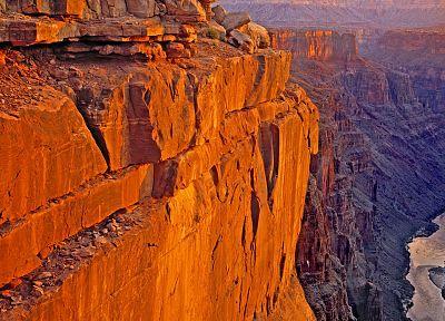 восход, точка, Аризона, Гранд-Каньон, Колорадо, Национальный парк - обои на рабочий стол