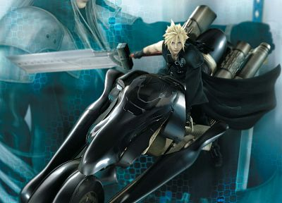Final Fantasy VII Advent Children, Сефирот, Cloud Strife - обои на рабочий стол