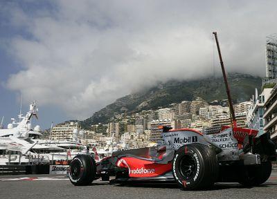 автомобили, Монако, McLaren, Льюис Хэмилтон - обои на рабочий стол
