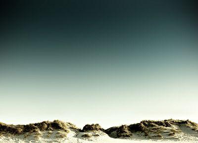 песок, дюны, пляжи - популярные обои на рабочий стол