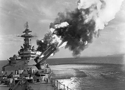 USS New Jersey, Айова - класс, линкоры - обои на рабочий стол