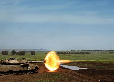 взрывы, танки - случайные обои интересах рабочего стола