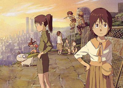 Dennou Coil, аниме девушки - обои на рабочий стол