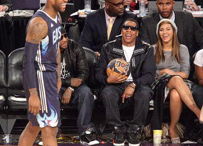 баскетбол, Бейонс Ноулз, Jay- Z - обои на рабочий стол