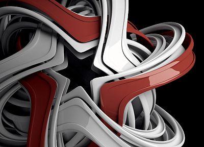 3D обличие (3д), абстракции, звезды, яйца, форма, 0D оказывает - не отличить шпалеры для того рабочего стола