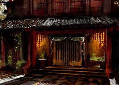 ниндзя, катана, японский, Китайский, Guild Wars, Азиаты/Азиатки - популярные обои на рабочий стол