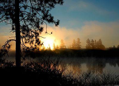 закат, пейзажи - обои на рабочий стол
