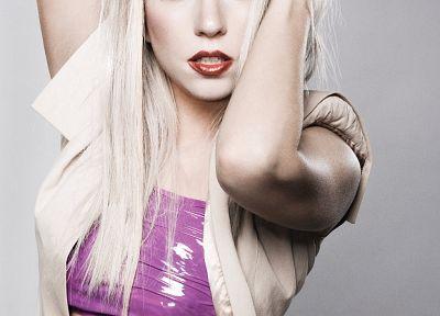 Lady Gaga, певцы - новые обои для рабочего стола