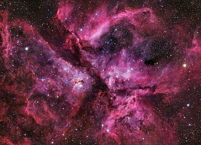 космическое пространство, туманность Киля - популярные обои на рабочий стол