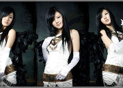девушки, Хван Ми Хи, Азиаты/Азиатки - обои на рабочий стол