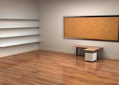 комната, 3D оказывает - популярные обои на рабочий стол