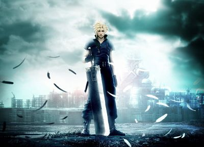 Final Fantasy VII, Final Fantasy VII Advent Children, Cloud Strife - случайные обои для рабочего стола