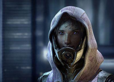 видеоигры, Mass Effect, научная фантастика, произведение искусства, Тали'Зора VAS Neema нар Rayya, Тали Цора нар Rayya - обои на рабочий стол