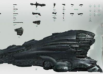 EVE Online, Галленто, космические корабли, транспортные средства - популярные обои на рабочий стол