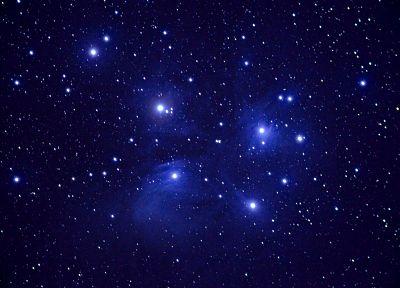 космическое пространство, звезды - обои на рабочий стол