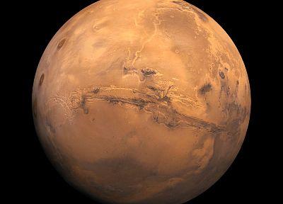 космическое пространство, планеты, Марс - обои на рабочий стол