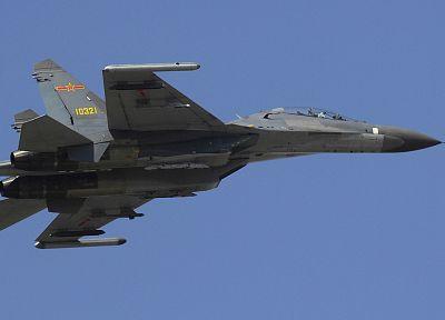 самолет, Су-27 Flanker - обои на рабочий стол