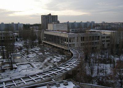 Припять, Чернобыль - обои на рабочий стол