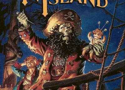 видеоигры, Monkey Island, реванш, Гайбраш - случайные шпалеры к рабочего стола