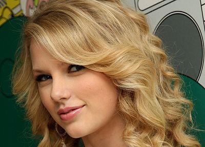 блондинки, девушки, Тейлор Свифт, знаменитости, певцы - обои на рабочий стол