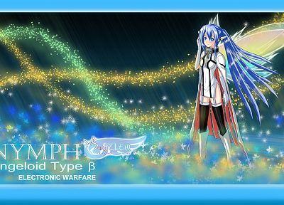 Не Сора не Otoshimono, angeloid, аниме девушки, Нимфа ( Сора Нет Otoshimono ) - обои на рабочий стол