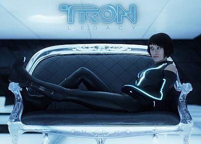 Оливия Уайлд, Трон - новые обои для рабочего стола