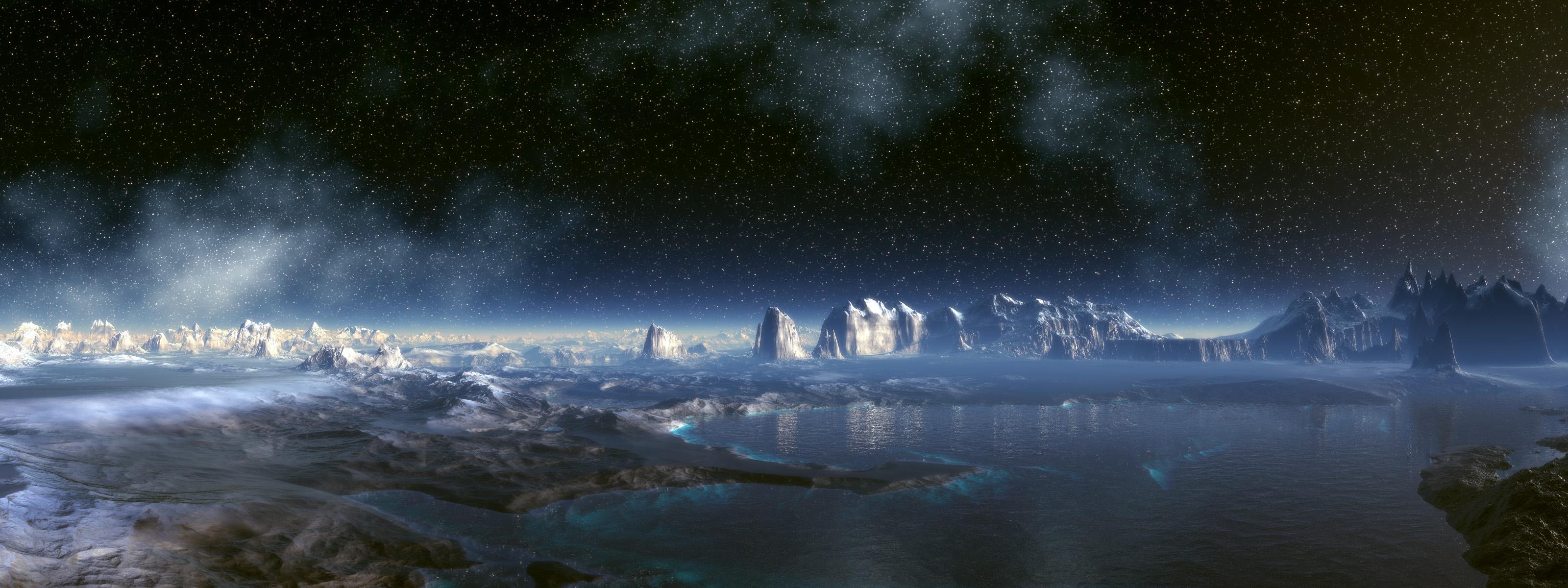 Космос панорамные картинки